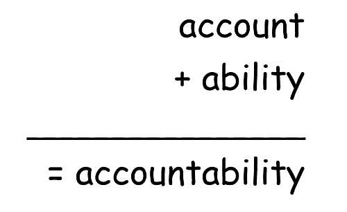 Accountability equation
